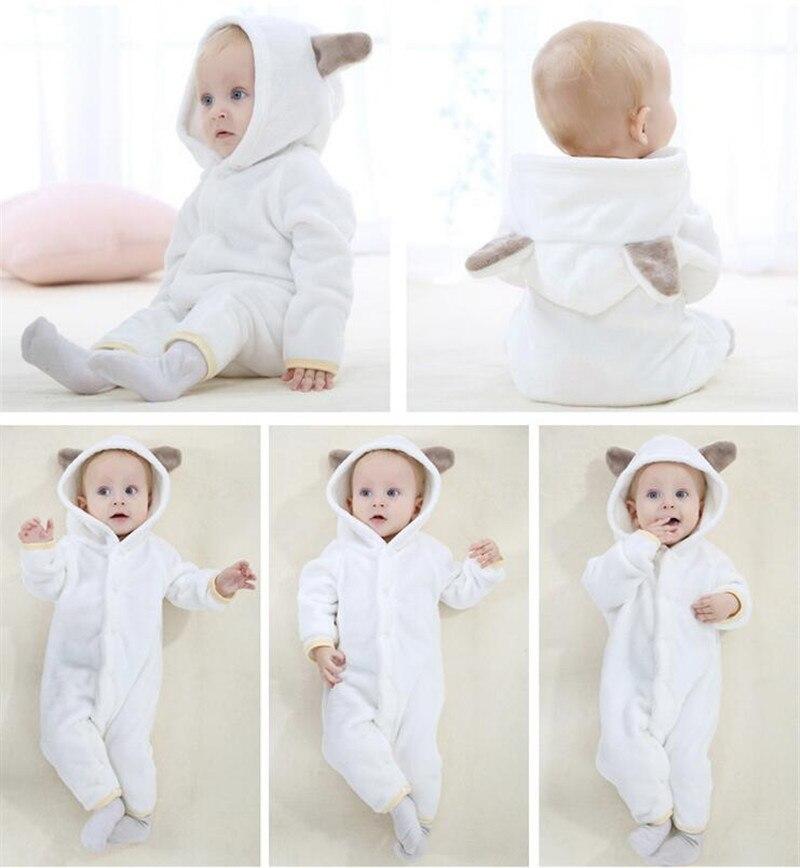 criança roupas de bebê bonito animal macacão trajes do bebê