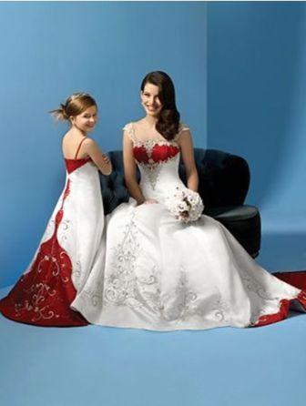 cap vestidos de novia de marfil blanco verde azul púrpura rojo de