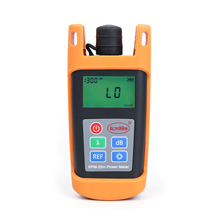 Free shipping FTTH Fiber Optic Optical Power Meter Cable Tester Networks FC/SC connectors цена