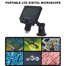 Big sale 600X USB Microscope Digital Video Microscope Multi-Language Electronic 4.3 LCD Screen VGA Microscope for PCB repair Plant Watch