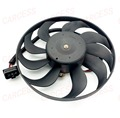 Cooling Motor Fan Assembly RADIATOR Electric Fan Motor Assy For VW Volkswagen POLO 1.6 Automatic car OE 6QD959455C 3 PINS  small