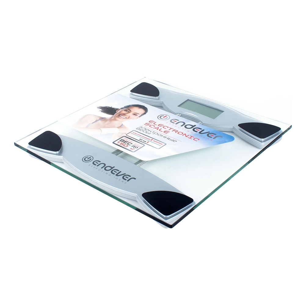 Floor scales Endever Skyline FS-545 home lcd display weighing scale usb rechargeable electronic scales gym floor scales 180kg 50g