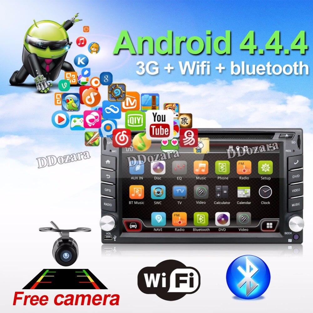 Electrónico del coche autoradio 2din android 6.0 reproductor de dvd estéreo del