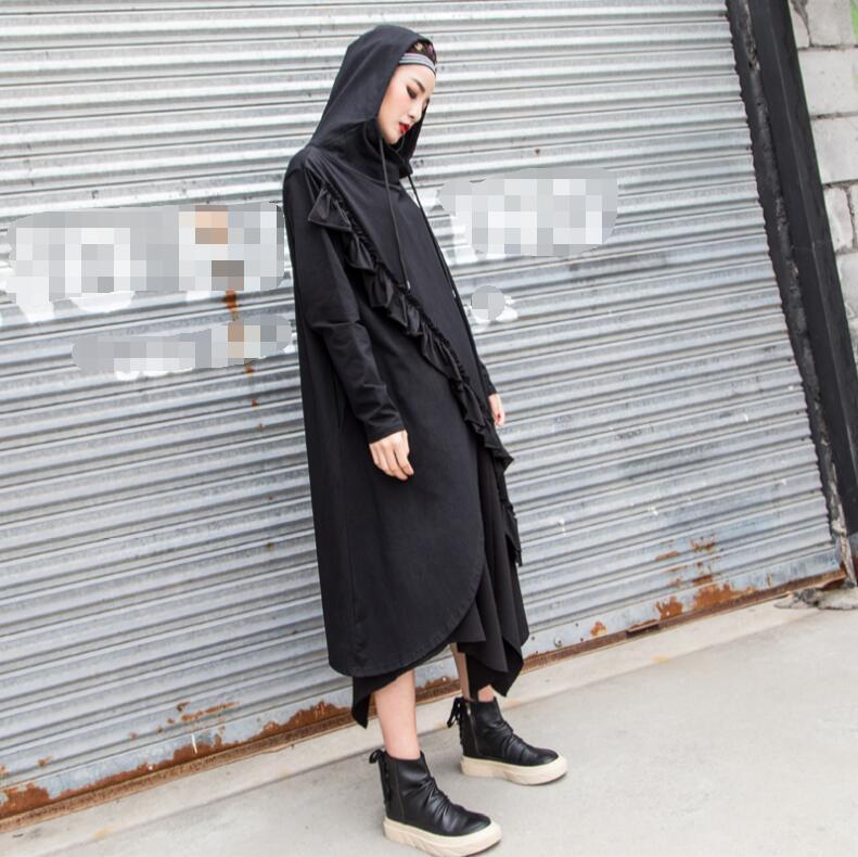 Américain Style Dans Femmes De Pour Européen Noir Le Un Nouveau 2018 Vêtements Printemps Et U5x6v4xq