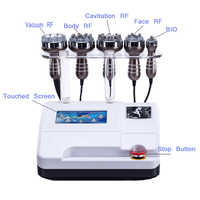 CE multi-fonctionnel top 6 en 1 ultrasons 40 K cavitation minceur équipement de beauté