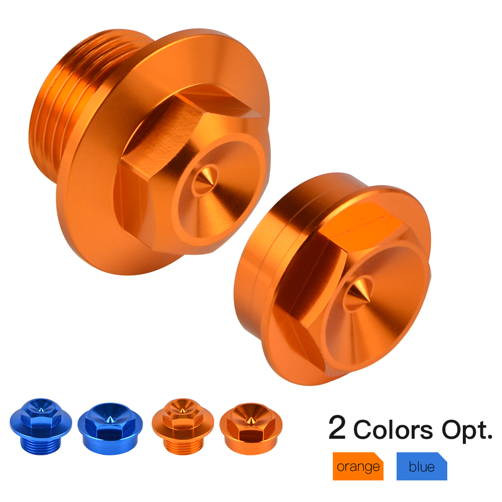Motorcycle Front Axle Shaft Lock Nut Rim For KTM 125 150 250 300 350 450 500 SX SX F XC XC F XC W Tpi XCF W EXC EXC F Six Days
