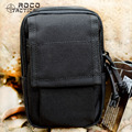"ROCOTACTICCAL Mens Army Sports Waist Packs MOLLE EDC Military Bags Military Hunting Waist Utility Pouch Bag for 6"" Smart Phone"