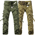 2016 army military style fashion cargo Pants Men Trousers male Multi Pocket Combat Pants Overalls Trousers Tactical Pants men