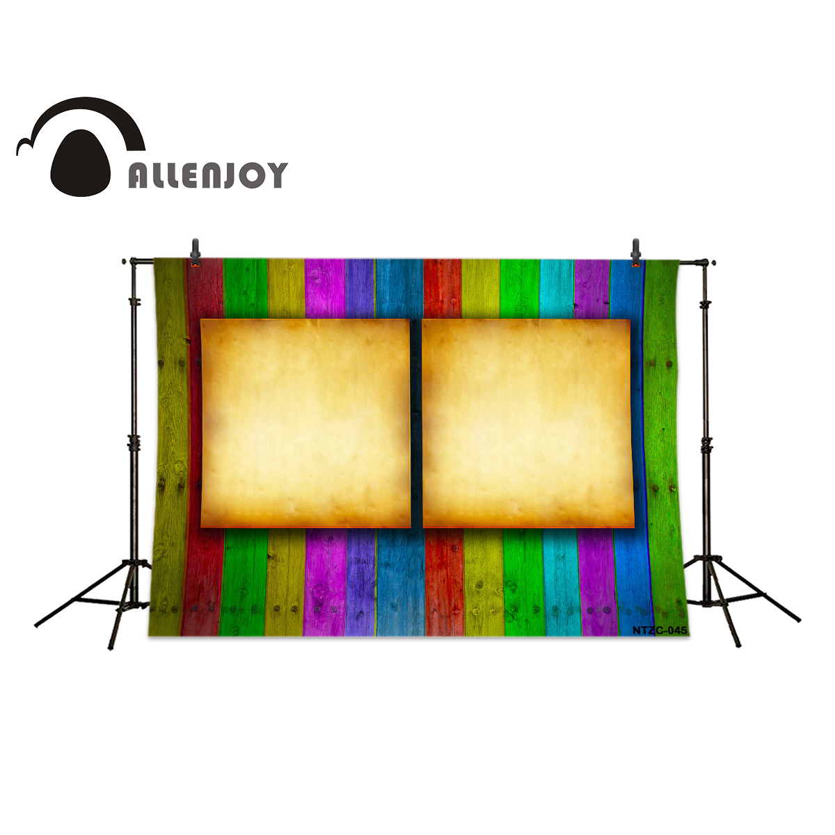 Allenjoy photography backdrops Background color display board wood ...