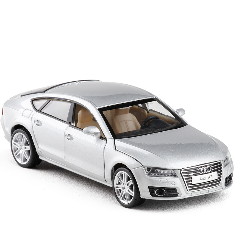 1:32 Free Shipping Audi A7 Diecast Alloy Car Model Electronic Sound & Light Toy Cars Birthday Gift