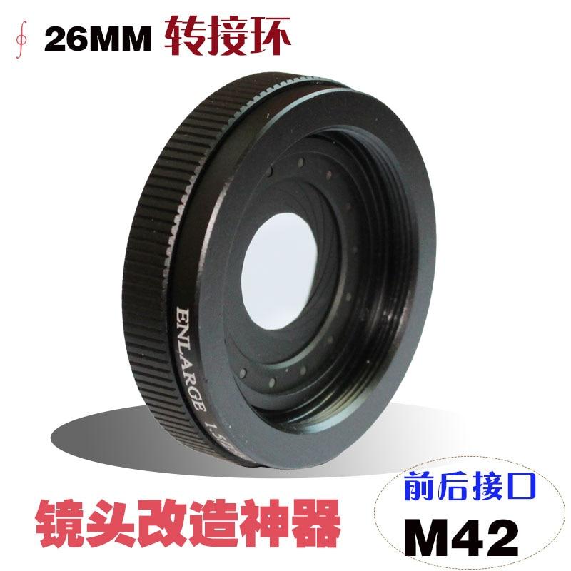 1.5-26mm 25mm Amplifying M42 x1mm Thread Casing Adjustable Metal Iris Diaphragm Aperture Condenser Camera lens Adapter 1 5 26mm 25mm amplifying adjustable metal iris diaphragm aperture condenser camera lens adapter with m42 x1mm thread casing