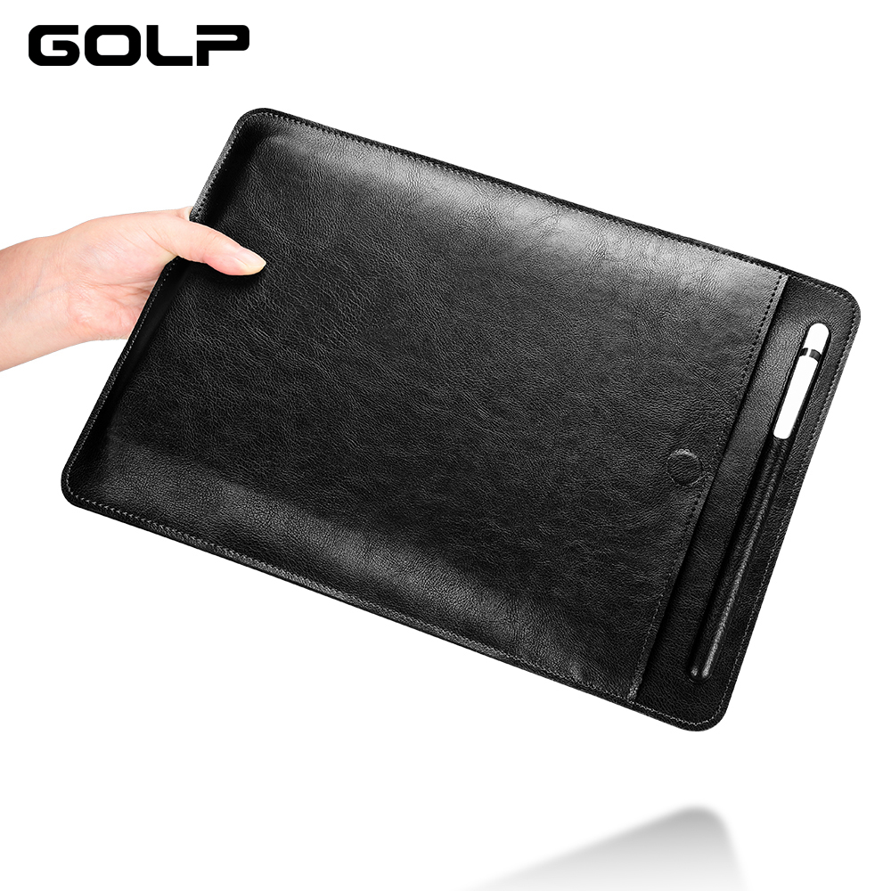 GOLP Bag Case for iPad Pro 11 2019 Case for 10.5 inch Ultra Slim Full Protection PU Leather Bag Cover for iPad Pro 11 Case