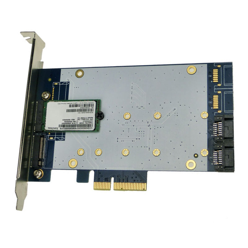 Desktop PCI-e to NGFF M.2 adapter SSD SATA3.0 expansion card SSHD MARVELL 88SE9230