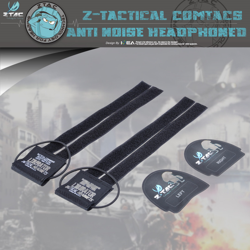 Genuine Z-TAC Z004 Conversion Kit For Tactical Helmets And Sordin Headset Stickers Walkie Talkie Accessories