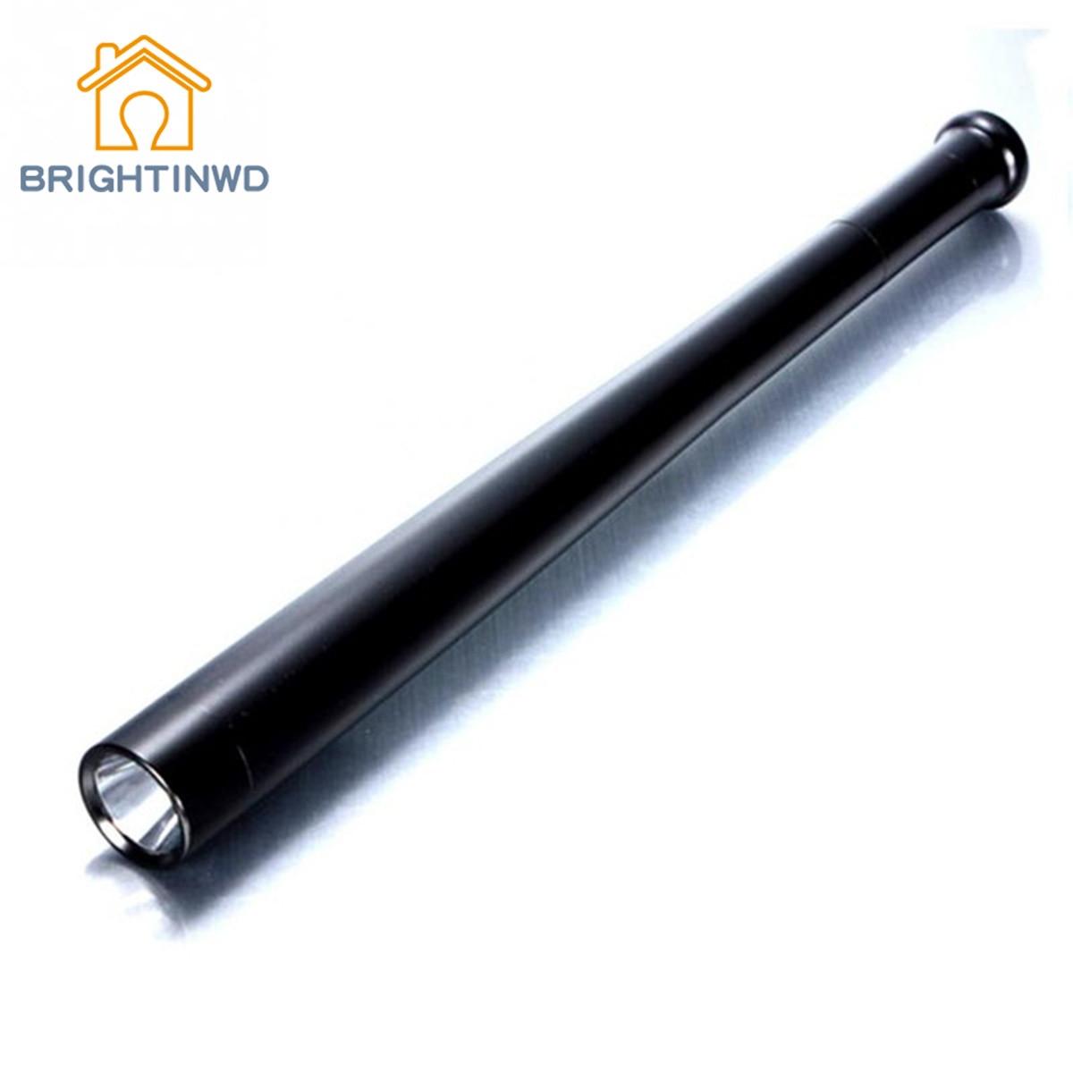 BRIGHTINWD Saft Lighting Lamp 3 Mode Baseball Stick Flashlight Security Camping Light Torch цена