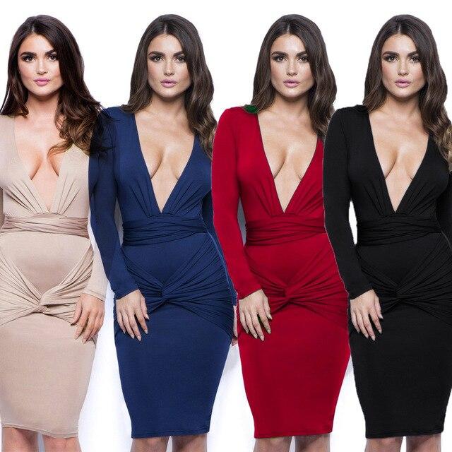 38914660f8c Nouvelles femmes Sexy Mince De Mode En Europe Style V Cou Clubwear  Vêtements de Nuit à