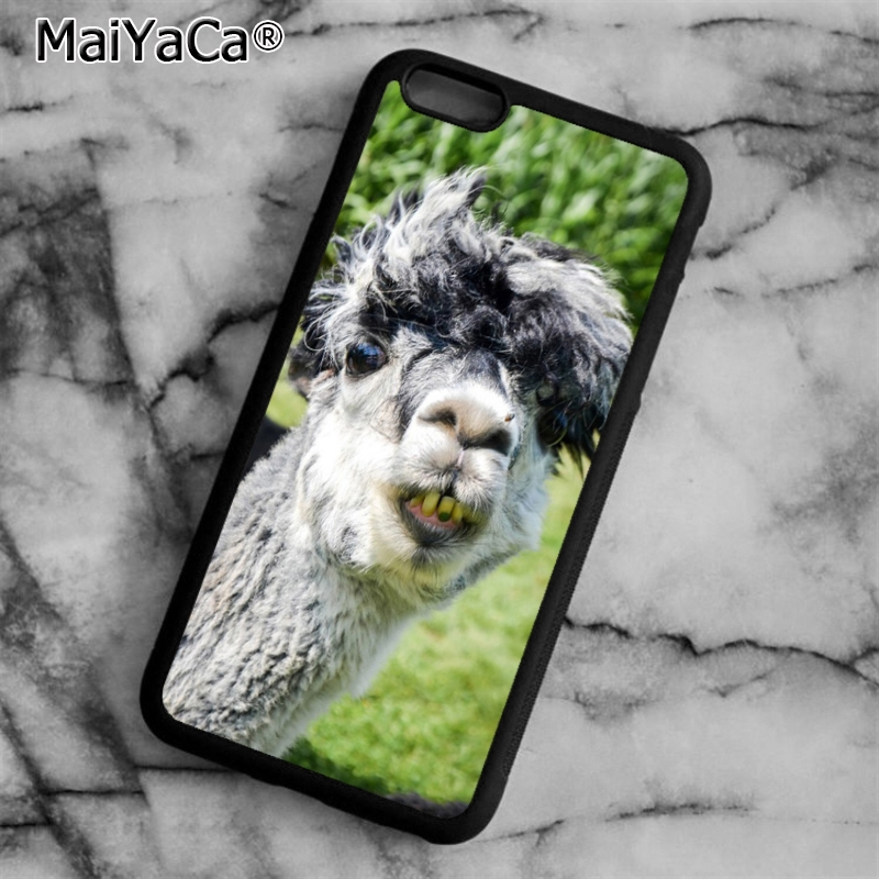 Us 318 20 Offmaiyaca Kawaii Alpacas Wallpaper Pattern Phone Case Cover For Iphone 5 5s Se 6 6s 7 8 Plus X For Samsung S5 S6 S7 Edge S8 Plus In