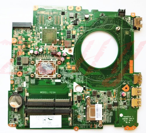 for HP Pavilion 17-F laptop motherboard 763424-501 763424-001 DAY23AMB6C0 Free Shipping 100% test ok