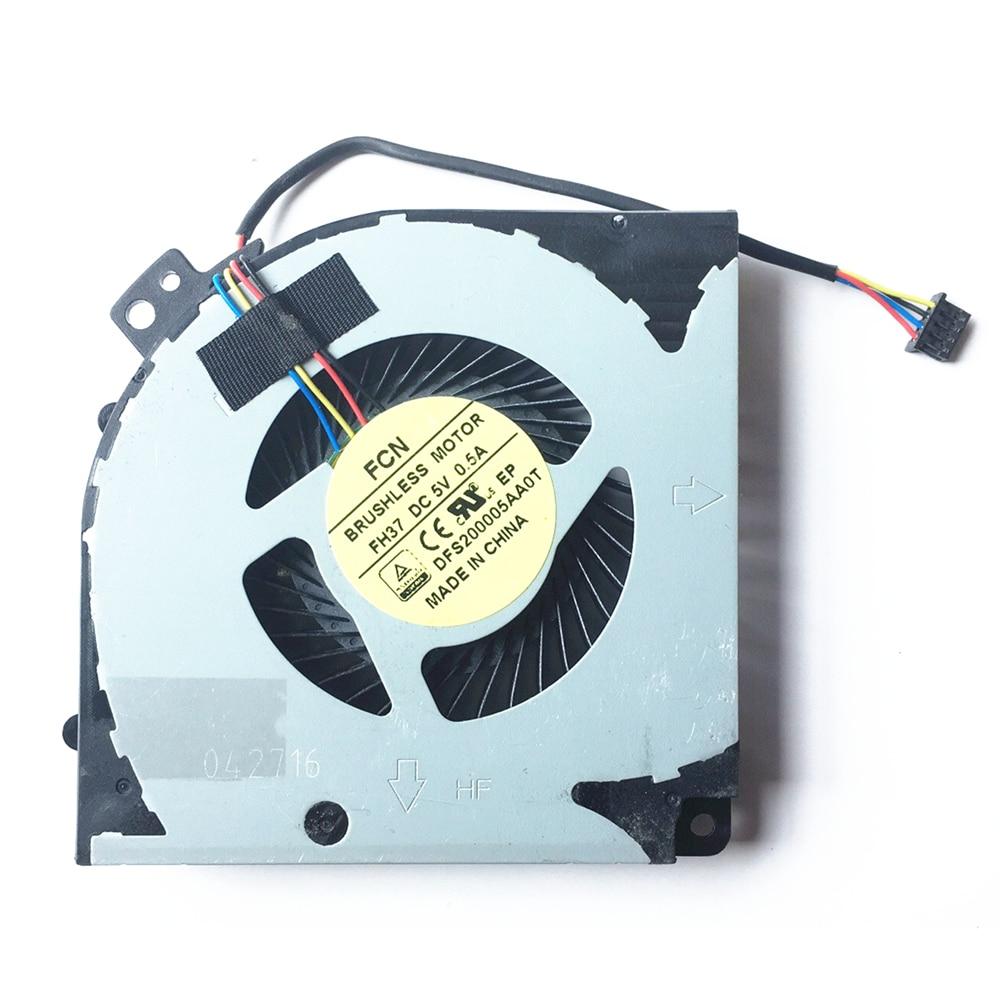 New FCN DFS20005AA0T FH37 Fan For Gigabyte Aorus X7 X7 V2 X7 V6 Cpu Cooling Fan