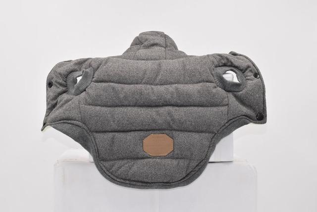 Dog Warm Padded Winter Jacket