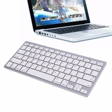 Ultra Slim Mini Silver Wireless Bluetooth 3 0 Keyboard For Android for Windows for iOS System