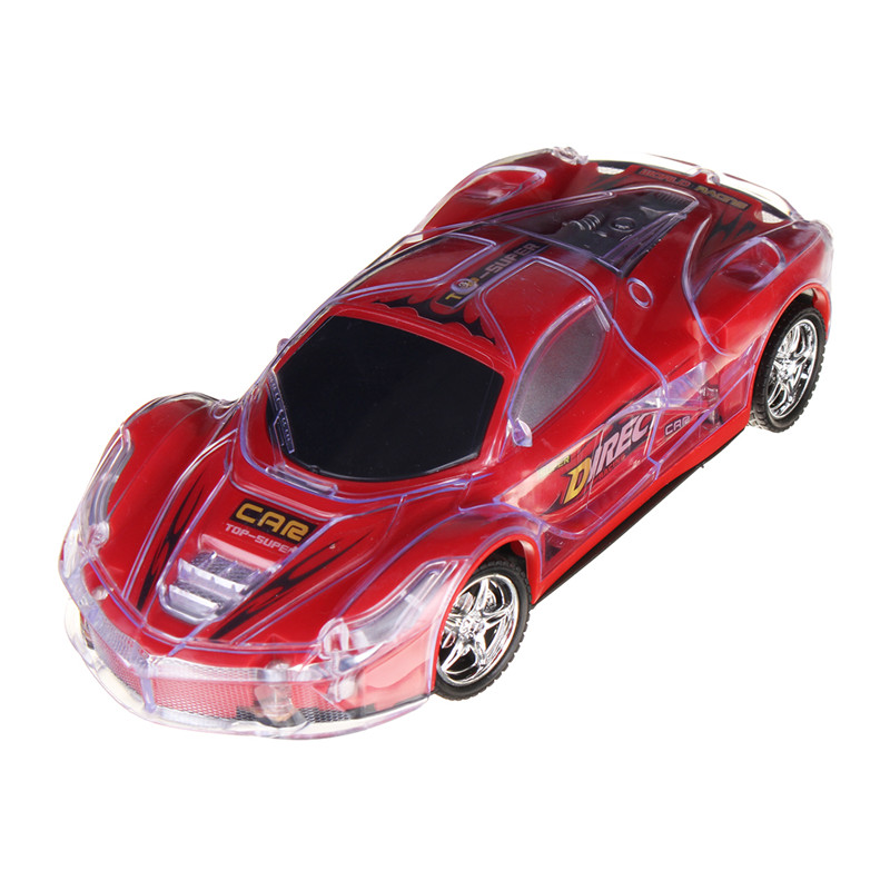 1/24 27MHZ Super Speed RC Racing Car With 3D Flashing LED Light Music Transmitter ...