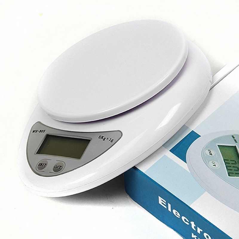 5 kg/1g cuisine Balance numérique haute qualité précision pesage alimentaire santé régime mesure Balance électronique Balance bijoux Balance