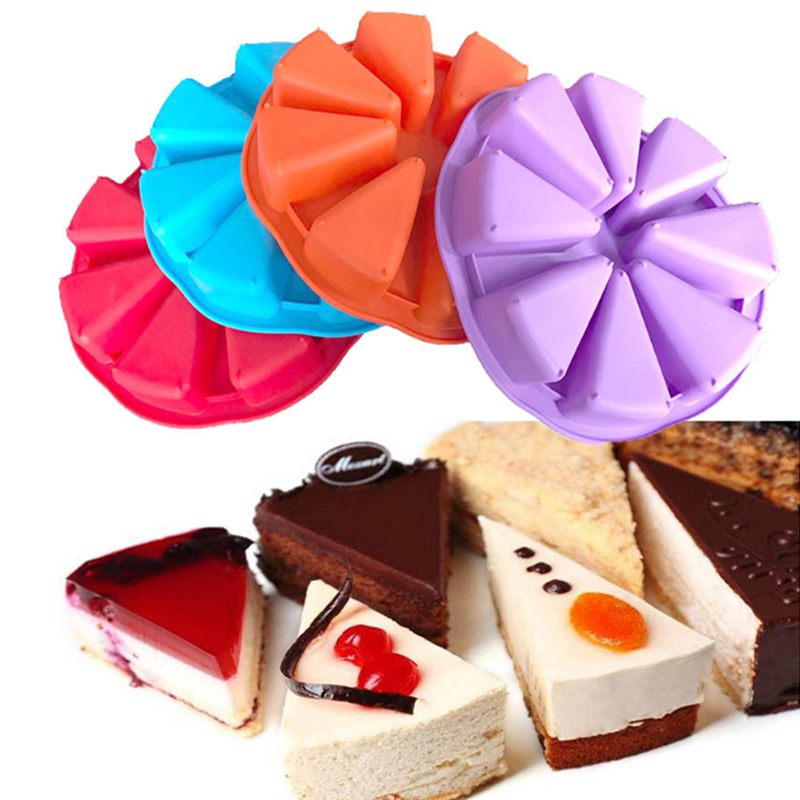 Silicone baking mold 8-hole Cake Moulds DIY Baking Tools Soap mold Tools Kitchen Creative Accessories YL894045