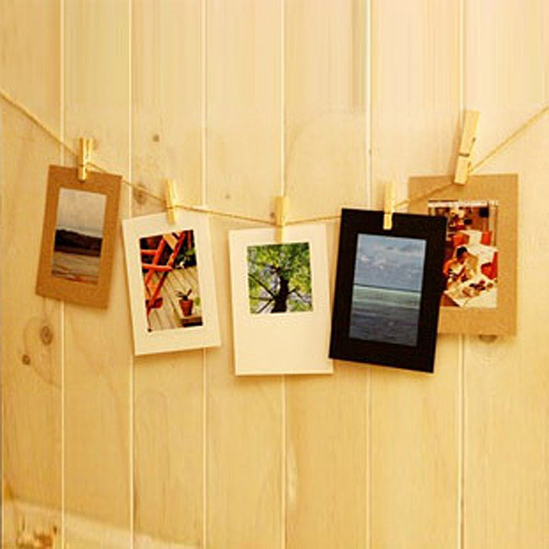 Fashion 6 Inch Hanging Paper Photo Frame Vintage Wall Paper Frames ...
