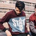 VIISHOW Hombre camisetas de los Hoodies de hip hop Sudadera Pullover Hoodies de Los Hombres de Gran Tamaño de manga Larga Camiseta de Los Hombres Suéter de Invierno 4XL