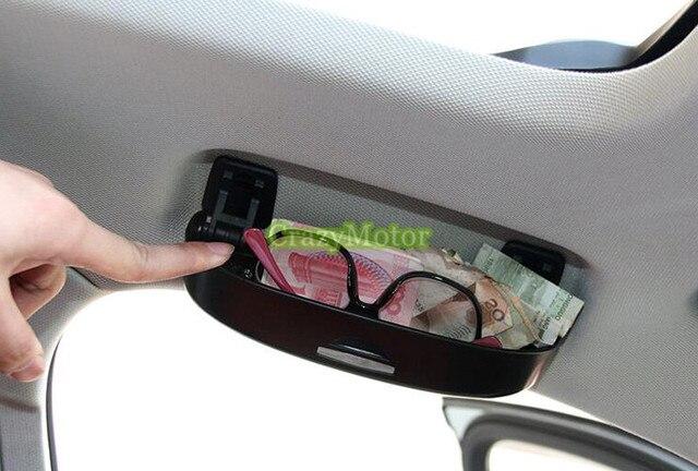 Caja de la Caja gafas de Sol del coche 1 unids Para Audi Q7 4 M 2016 2017 Accesorios de Reacondicionamiento Interior