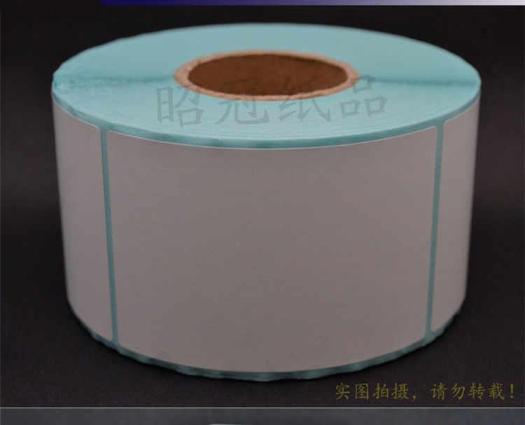 1 rollsPOS label kertas termal 40x100 mmThermal printer Label Thermal tahan air stiker barcode kosong (total 250 label)