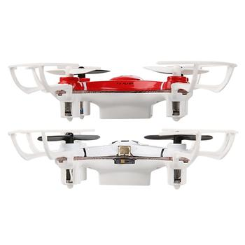 Remote Control Quadcopter 2.4G 4 Channel 4 Axis Nano RC Quadcopter Small Quad Mini Drone UFO R/C Red/White