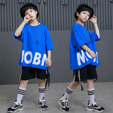Kids Loose Hip Hop Party Stage Clothing Dance Costumes Outfi