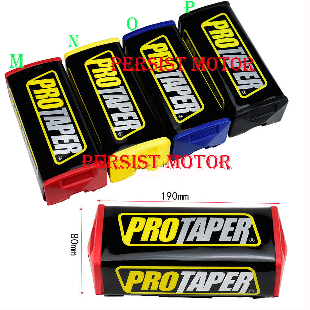 "BARU 7/8 ""Setang Persegi Lemak Pad PROTAPER MOTOCROSS FAT BAR MX ATV Dirt Bike HANDLEBAR PAD"
