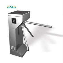 Turnstile Atuo Gate stainless steel waist high tripod turnstile gate for pedestrian access control with LED indicator rfid access control swing gate turnstile for outdoor access gate