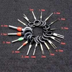18 шт./компл. терминал удаления инструменты автомобиля электропроводка обжимной разъем булавки Extractor Комплект для автомобиля Plug Repair Tool