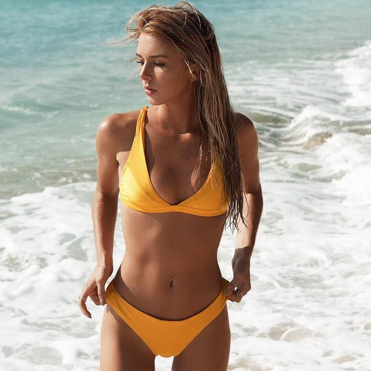 Brazilian <font><b>Bikini</b></font> <font><b>2018</b></font> Swimwear Swimsuit Women <font><b>Sexy</b></font> Push Up <font><b>Micro</b></font> <font><b>Bikinis</b></font> Set Swimming Suit Bathing Suit Summer Biquini Beachwear image