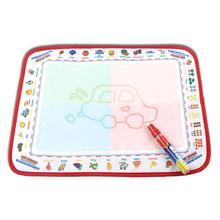 Kinder Magie Wasser Zeichnung Leinwand Doodle Färbung Malerei Bord mit Stift Baby lernspielzeug
