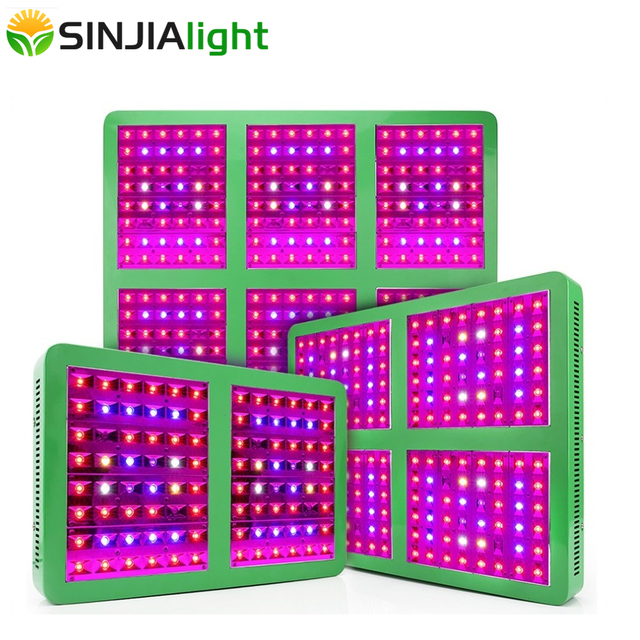 300W/600W/1200W/1800W LED Grow Light Full Spectrum Reflector Cup Hydroponic Growth Lamp for greenhouse grow tent plant lighting
