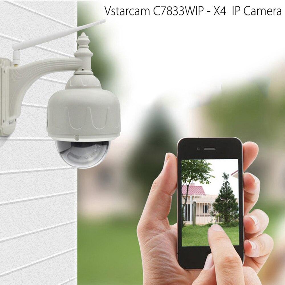 VStarcam 720P 4X Zoom PTZ Dome IP Kamera Im Freien Wasserdichte Wifi CCTV Sicherheit Video Netzwerk Überwachung Kamera C7833WIP-X4