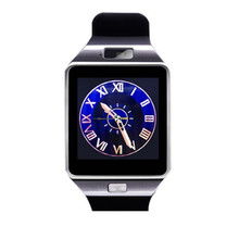 Купить с кэшбэком DZ09 Relogio Smart Watch Cell Phone GSM Wrist Watch Alarm Clock Camera Pedometer SIM Slot Touch Screen Wristband For IOS Android