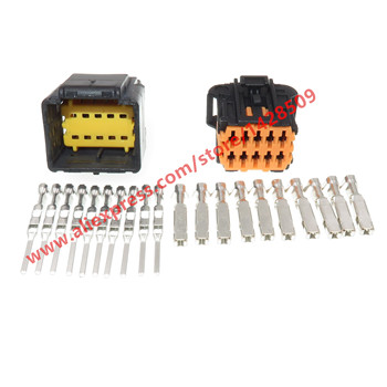 20 Sets 10 Pin Female Male Electrical Automotive Wire Harness Connector For Chevrolet Peugeot 98823-1011