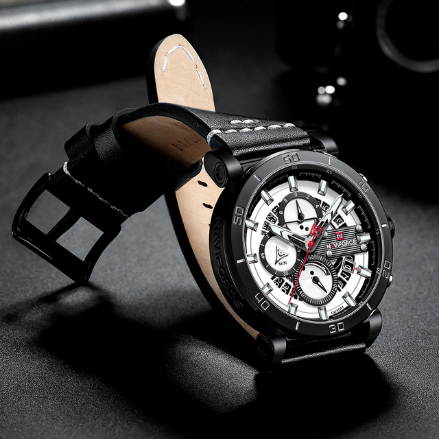 Automatic Date Clock Male Army Military Waterproof Wrist Watch 4