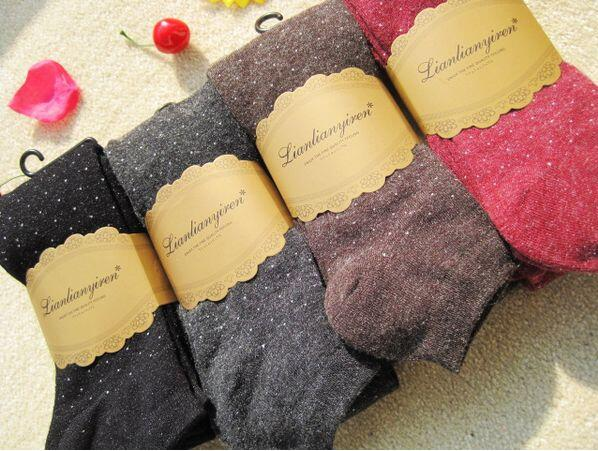 New type of Korean cashmere little pantyhose / point warm cashmere socks