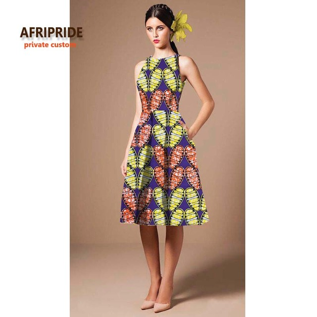 2019 AFRIPRIDE Private Custom dresses for women summer sleeveless ...