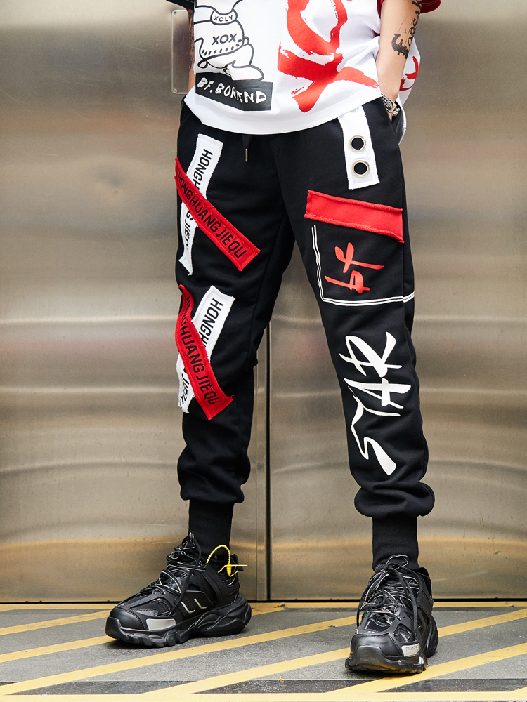 Carga Casual Nueva Corea Hip Del Pantalones Bf Estilo Hombres Harén Casuales Hop Los Moda Streetwear Joggers Tatical 2019 Hombre De OSBfOx
