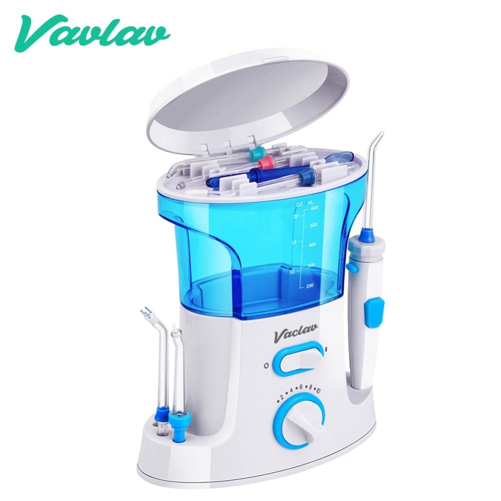 Vaclav hilo Dental irrigador Oral agua Flosser irrigador Dental Floss agua Floss Dental Water Floss Pick Oral riego