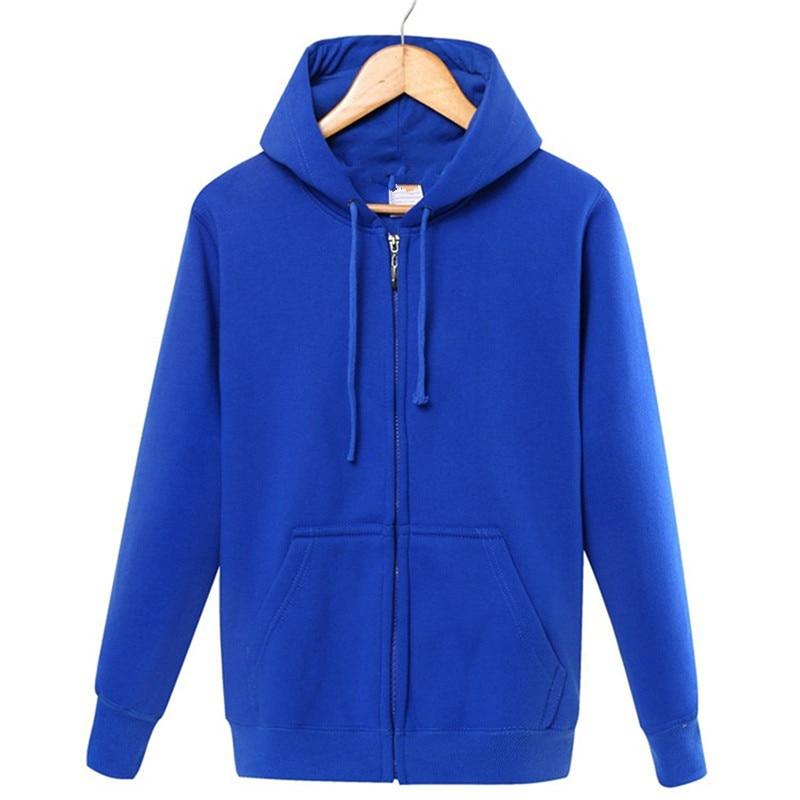 Image 4 - Winter 2019 cotton  zipper hoodie street hip hop red black powder zipper hoodie hoodies   S 4XL-in Hoodies & Sweatshirts from Men's Clothing