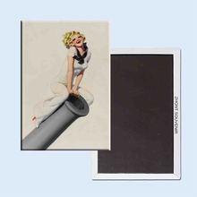 Painted Pinup Art Bolles Enoch Film Fun Magazine 24082 Retro nostalgia fridge magnets other enoch 250